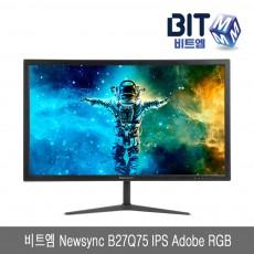비트엠 Newsync B27Q75 IPS Adobe RGB