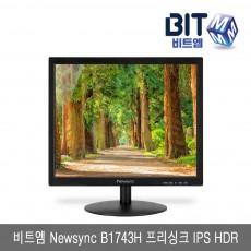 비트엠 Newsync B1743H 프리싱크 IPS HDR